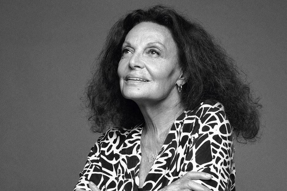 Modeontwerpster Diane von Furstenberg: 'Ik ben altijd in charge'