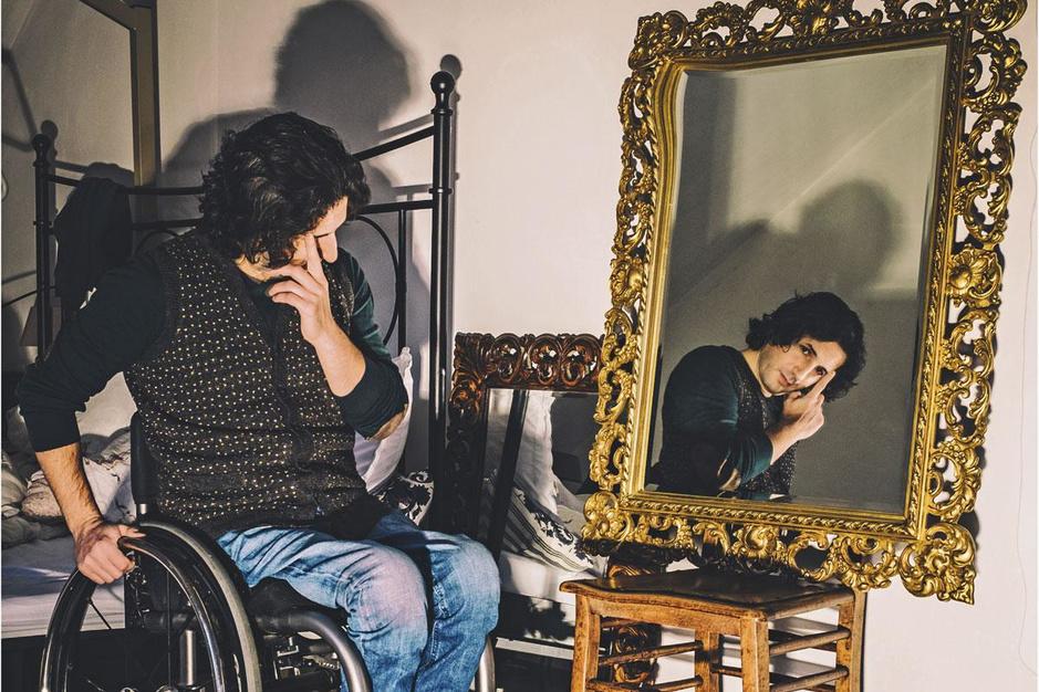 Dichter Mustafa Kör: 'In mijn hoofd ben ik een en al gratie en sierlijkheid'