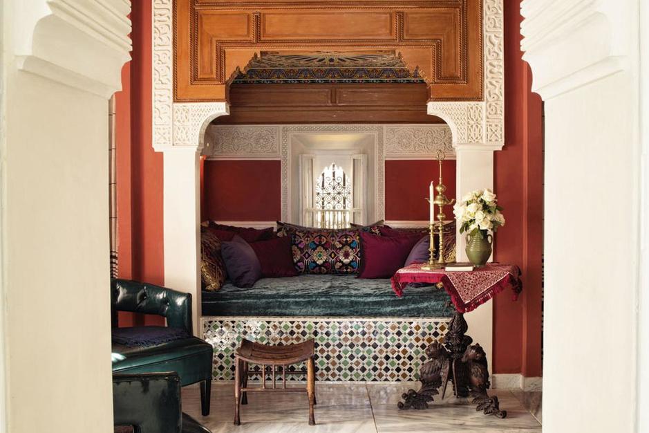 Congé in Tanger: simpel huis wordt omgetoverd tot werelds paleis