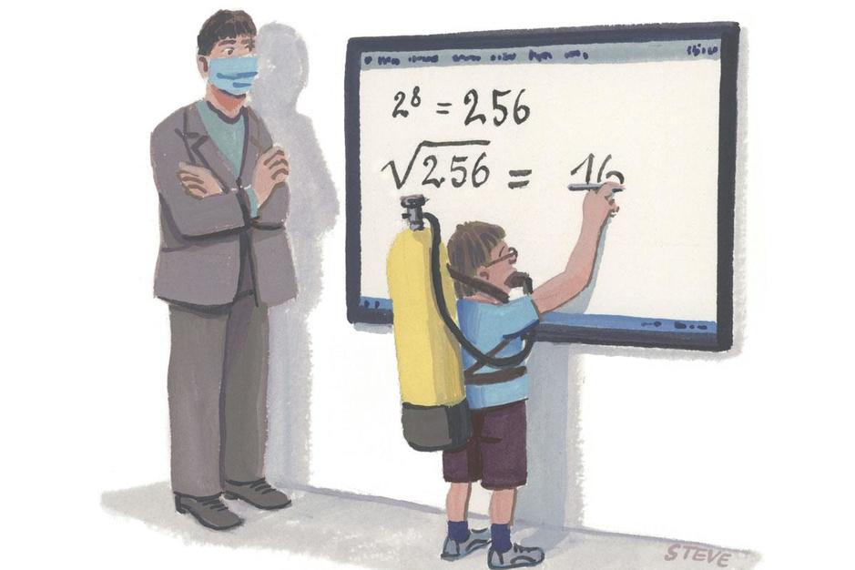 Factcheck: betere ventilatie in de klas levert geen 1,5 punt extra op voor rekenen
