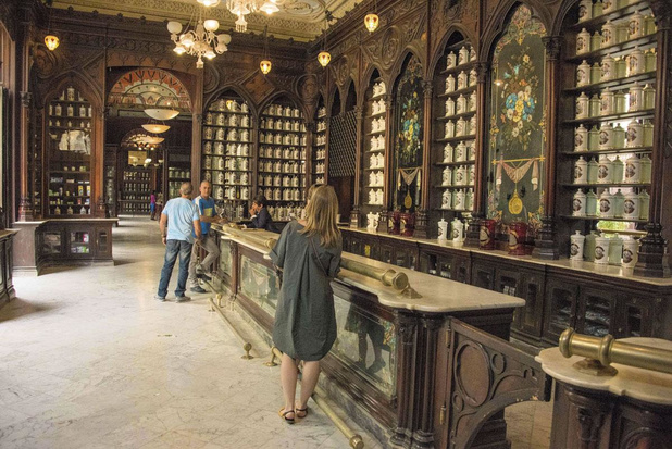 Petit tour par le musée de la pharmacie de La Havane....