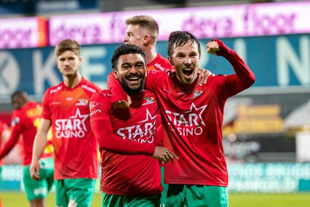 Oostende verstevigt leidersplaats in Europe play-offs met 6-2 zege tegen Standard