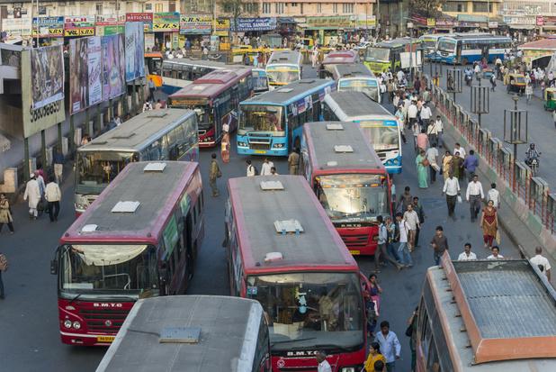 Dit zijn de steden met de grootste verkeersdrukte