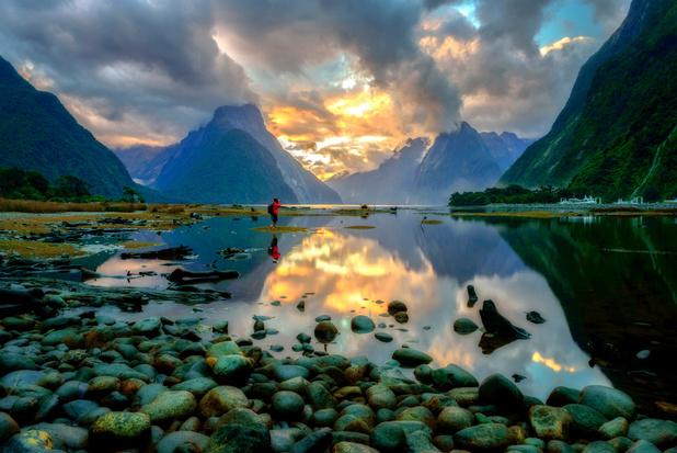 Toeristen bij Nieuw-Zeelandse fjord Milford Sound zitten vast door hevige regenval