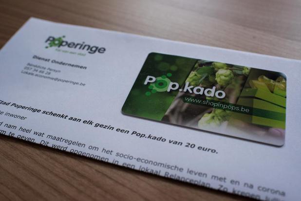 Gekregen Pop.Kado's blijven geldig tot 31 december, zelf gekochte een vol jaar na aankoop