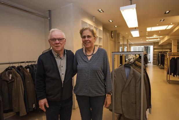 Herenkledingwinkel Renoma sluit na 47 succesvolle jaren de deuren in Poperinge