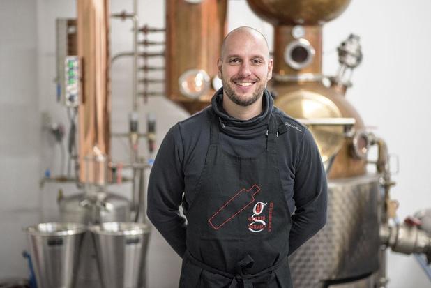 """Vincent Stiévenart (Distillerie Gervin): """"On s'est sentis utiles, ça faisait plaisir"""""""