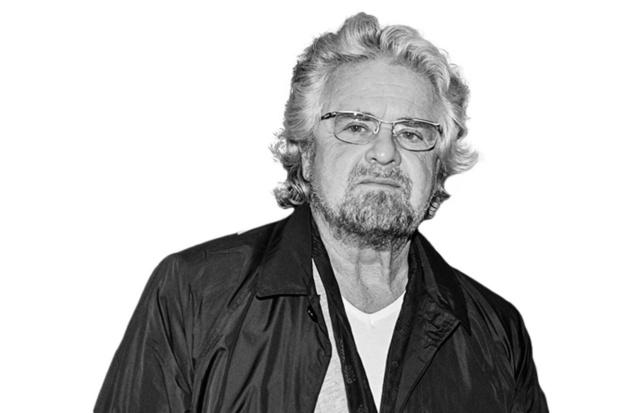 Beppe Grillo - Bazige vader