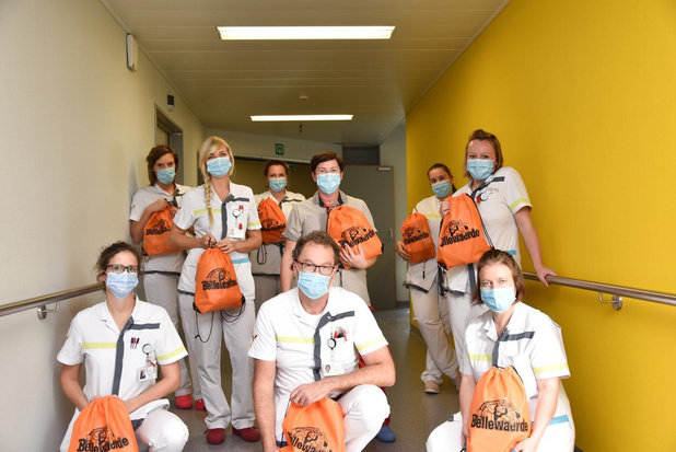 Bellewaerde schenkt goodiebags van Halloween aan ziekenhuizen