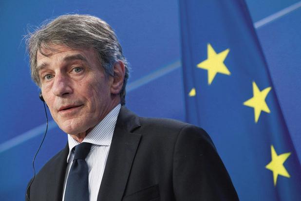 Europees Parlementsvoorzitter David Sassoli