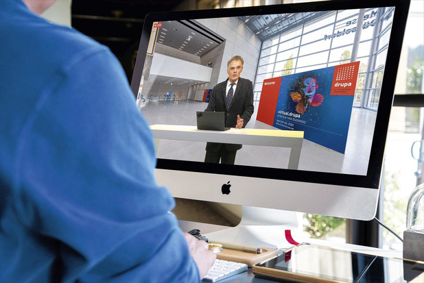 La Drupa virtuelle ne remplace pas le salon physique