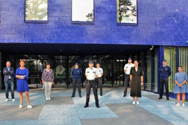 Zes nieuwe medewerkers politiezone VLAS legden eed af
