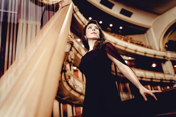 Slotconcert Festival van Vlaanderen met harpiste Anneleen Lenaerts