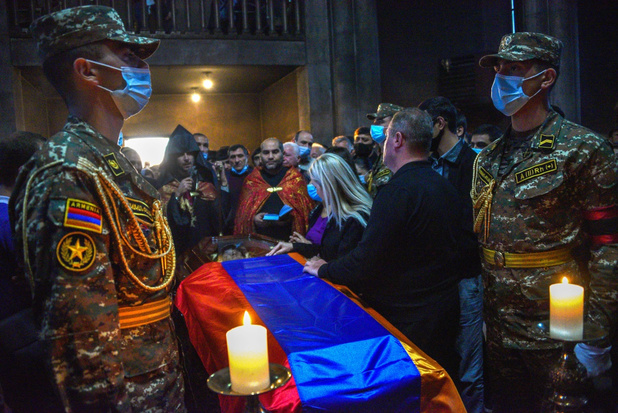 Armenië en Azerbeidzjan eens over staakt-het-vuren