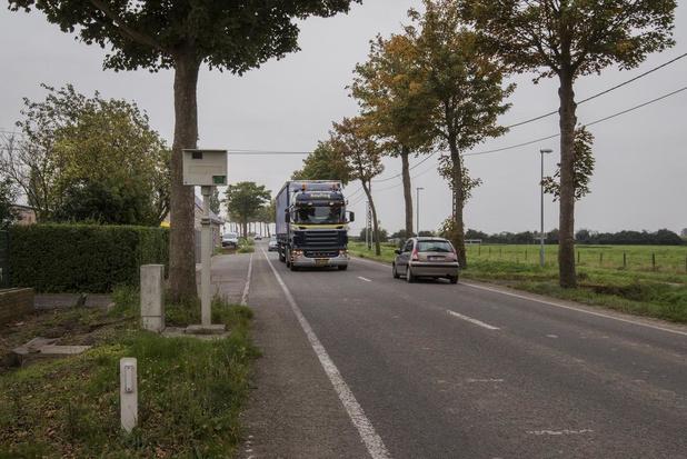 Nieuwe trajectcontrole langs de Provenseweg in Poperinge