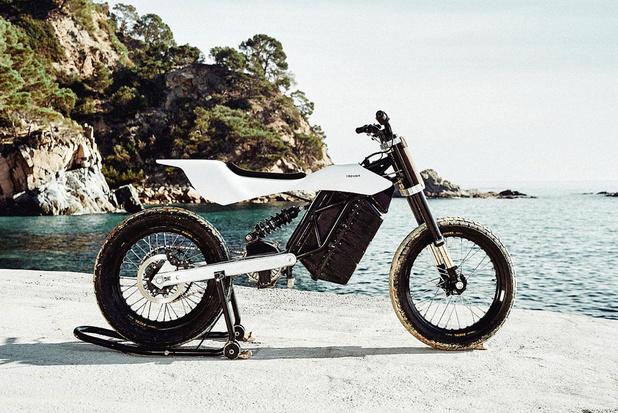 Une moto électrique et belge