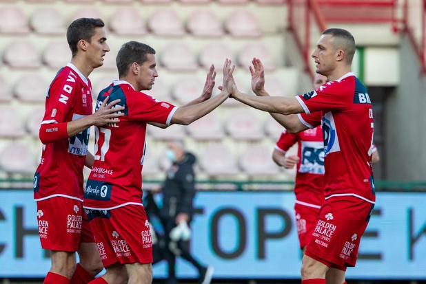 Kortrijk pakt punt na doelpuntenfestijn (5-5!) tegen Beerschot