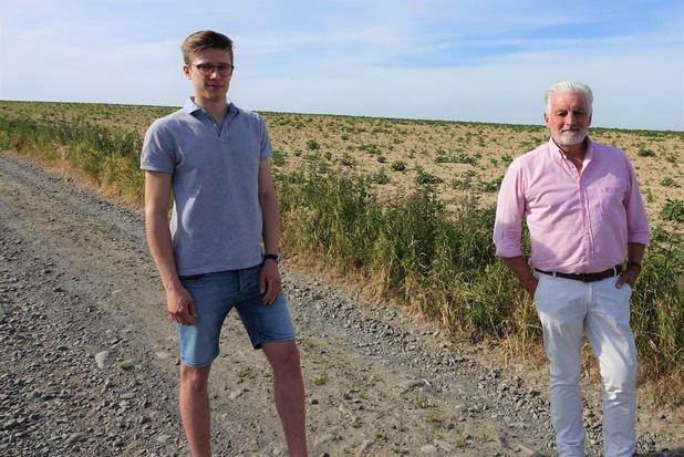 Maxime Van Parys (22) wil historische Romeinse weg in Kooigem redden