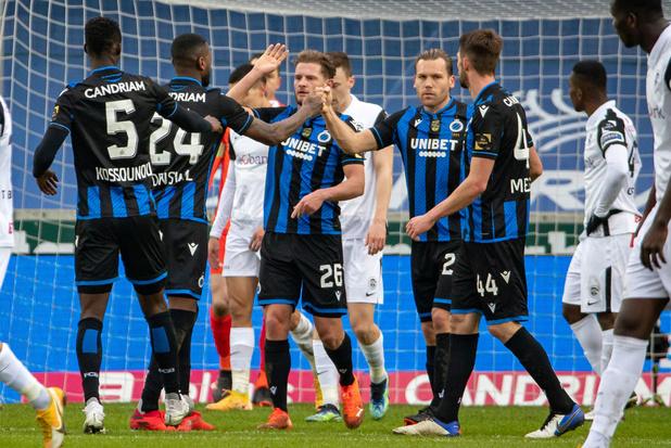 Club Brugge wint topper tegen Genk met 3-2
