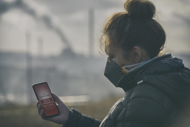 Studie naar verband tussen luchtvervuiling en ziekteverloop bij covid-patiënten