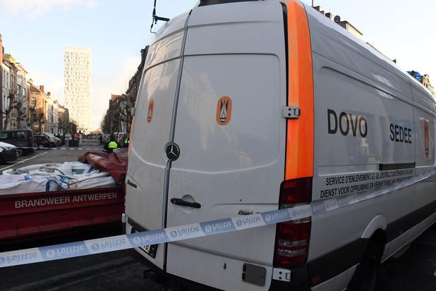 Antwerpen opgeschrikt door twee explosies