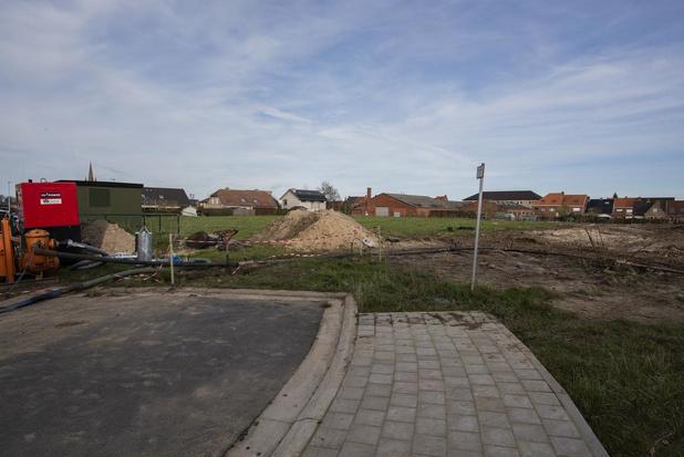 Nieuwe buurt met 45 woningen in het centrum van Poperinge