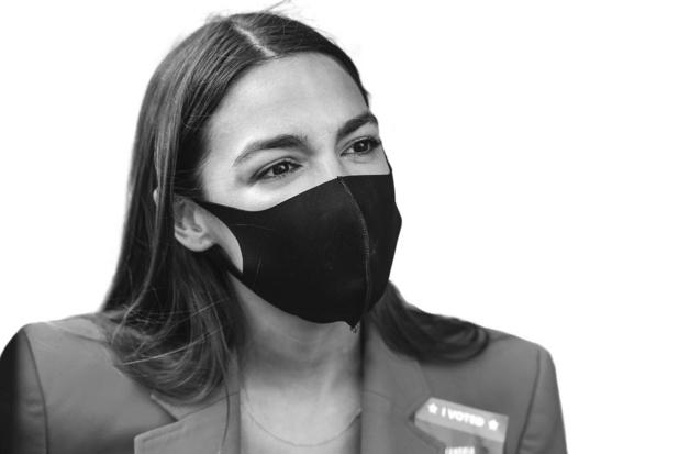 Alexandria Ocasio-Cortez - Viseert pater Damiaan