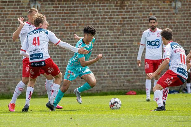 KV Kortrijk en Charleroi eindigt op gelijkspel: 1-1