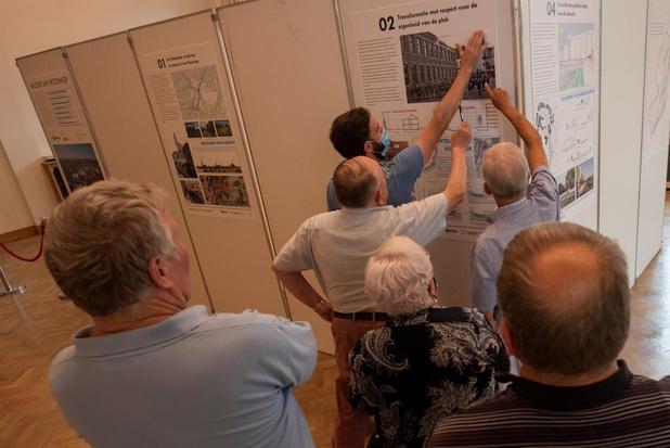Tal van vragen over de nieuwe Proosdijsite, expo met de plannen loopt tot en met zaterdag