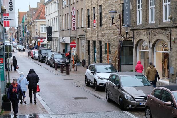 Ooststraat in Veurne wordt tijdelijk woonerf