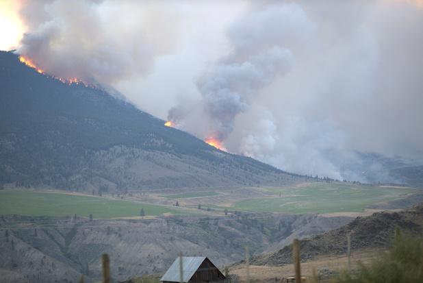 Hittegolf Canada en Californië: meer dan honderd branden