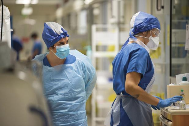 Covid : Encore plus de 1.500 nouveaux cas par jour en Belgique