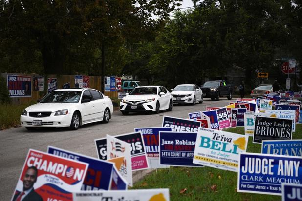 Rechter in Texas verklaart 127.000 stemmen per auto geldig