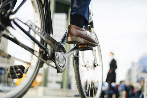 1 op 3 woon-werkverplaatsingen gebeurde (deels) met de fiets