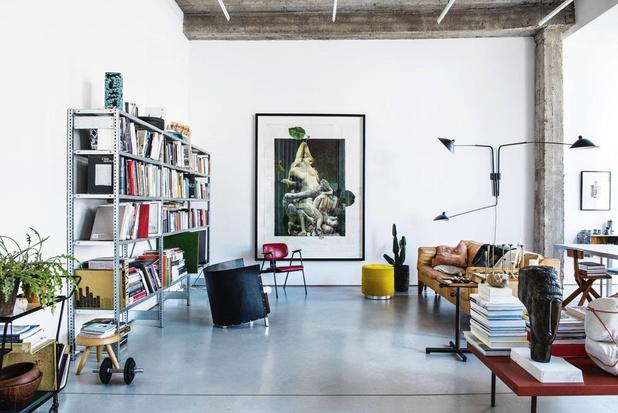 Garage à créer: l'incroyable atelier d'artiste de Thomas Lerooy, à Ixelles