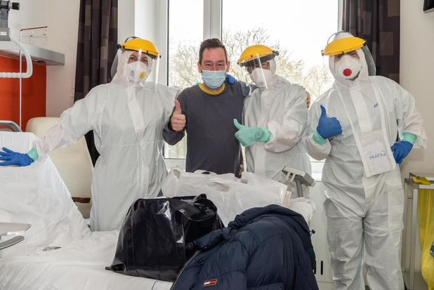 Nog slechts 7 covid-patiënten op AZ West in Veurne