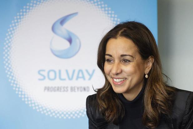 """Ilham Kadri, CEO de Solvay : """"Gaspiller moins, c'est toujours bon économiquement!"""""""