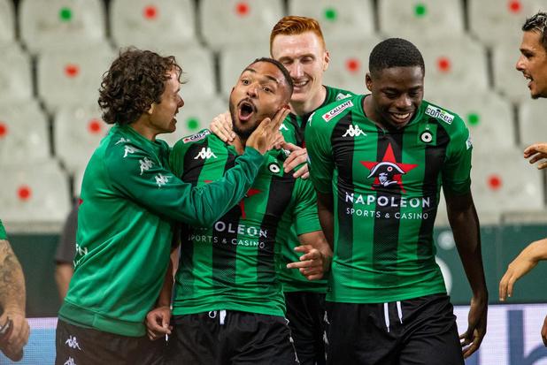 Cercle wipt naar zevende plaats na 3-0-zege tegen STVV