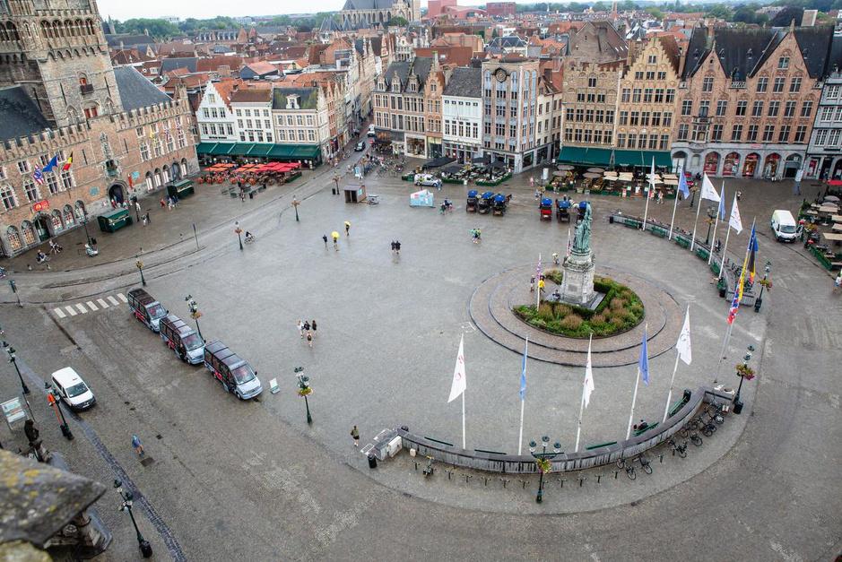 Brugge is leger dan ooit: dramatische cijfers voor toeristische sector