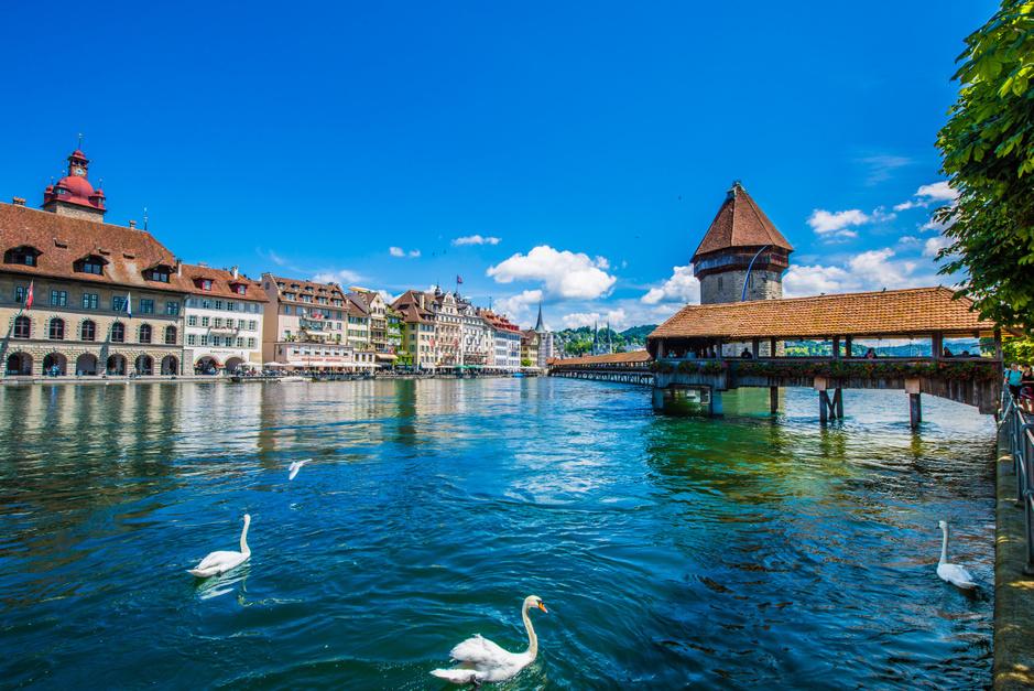 Dit zijn de mooiste grotere en kleinere steden in Zwitserland