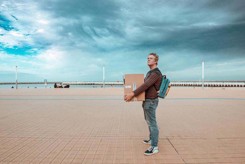 """Acteur Tom Vermeir strijkt neer in Oostende: """"Ik ga voor de keuzes van mijn hart"""""""