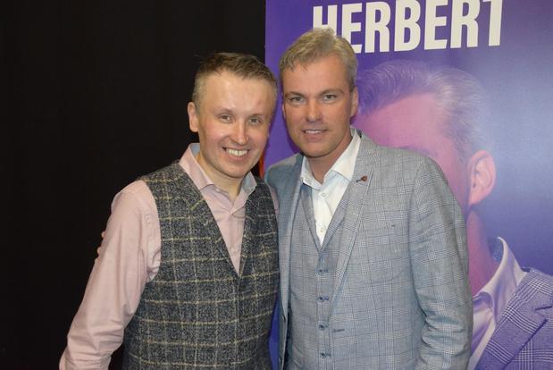 David Callebert promoot Vlaams talent tijdens show in Oostkamp