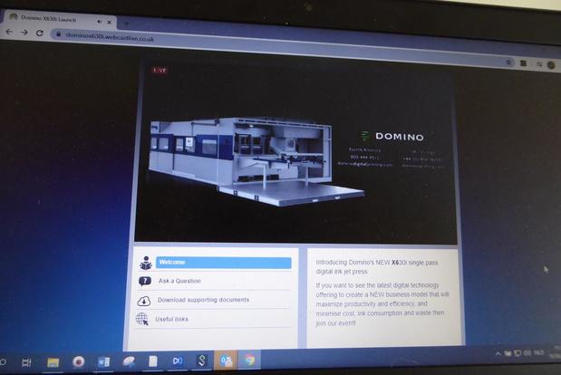 Domino lanceert inkjetvellenpers voor golfkartonbedrukking