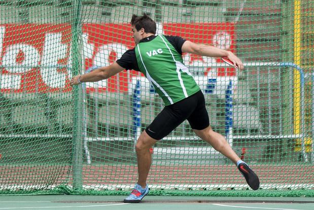 Philip Milanov tiende jaar op rij nationaal kampioen discuswerpen
