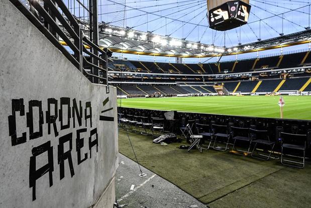 Bundesliga hervat ten vroegste begin mei