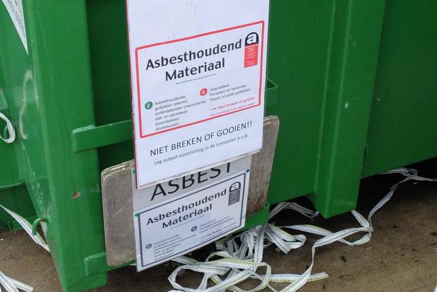 Asbest vanaf 18 augustus opnieuw aanvaard op IVVO-recyclageparken