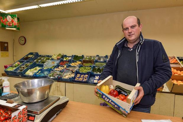Nieuw afhaalinitiatief van De Fruithalle: wekelijkse groentecolli