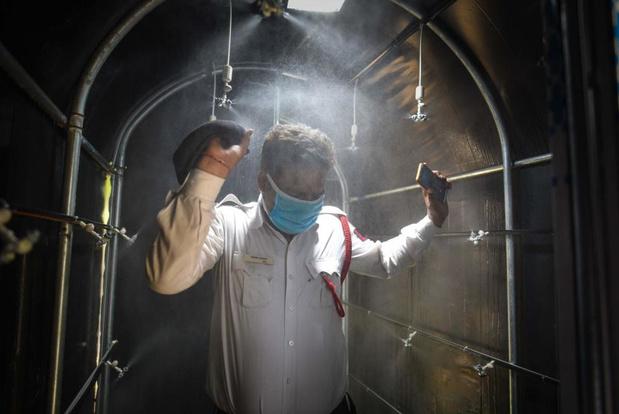 Les CSS met en garde contre les tunnels de désinfection et les lampes UV-C