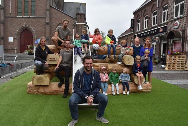 Speelplein met Markse roots in Bissegem