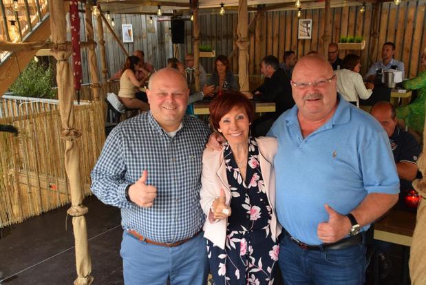 Jacky Lafon, Nest en Michel Van den Brande openen zomerbar in Blankenberge